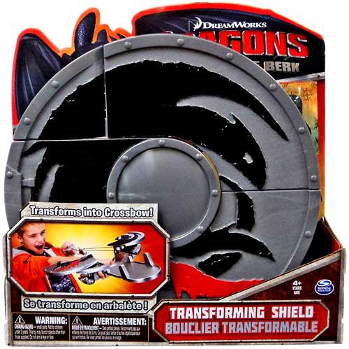 How to Train Your Dragon Dragons Defenders of Berk Transforming Shield Roleplay Toy