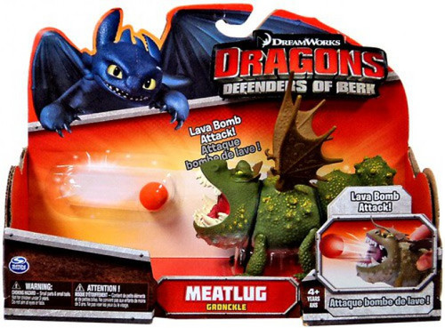 How to Train Your Dragon Defenders of Berk Meatlug Action Figure [Gronckle]