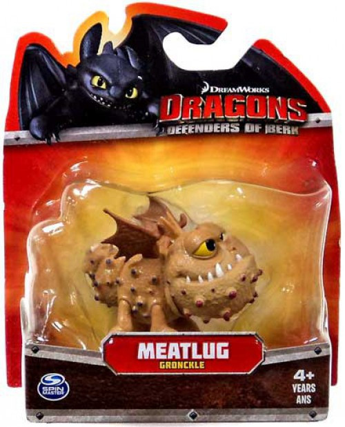 How to Train Your Dragon Dragons Defenders of Berk Meatlug 3-Inch Mini Figure [Gronckle]