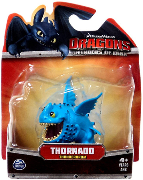 How to Train Your Dragon Dragons Defenders of Berk Thornado 3-Inch Mini Figure [Thunderdrum]