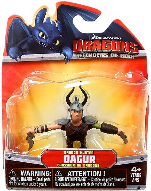 How to Train Your Dragon Dragons Defenders of Berk Dagur 3-Inch Mini Figure