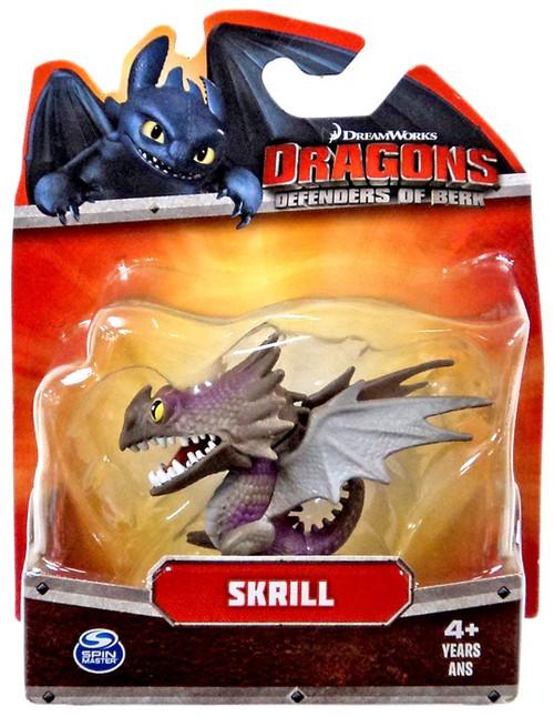 How to Train Your Dragon Dragons Defenders of Berk Skrill 3-Inch Mini Figure