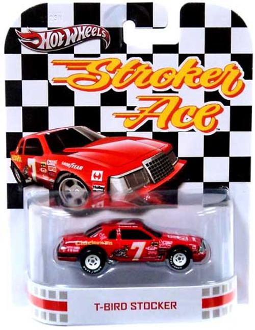 Hot Wheels Stroker Ace HW Retro Entertainment T-Bird Stocker Die-Cast Car