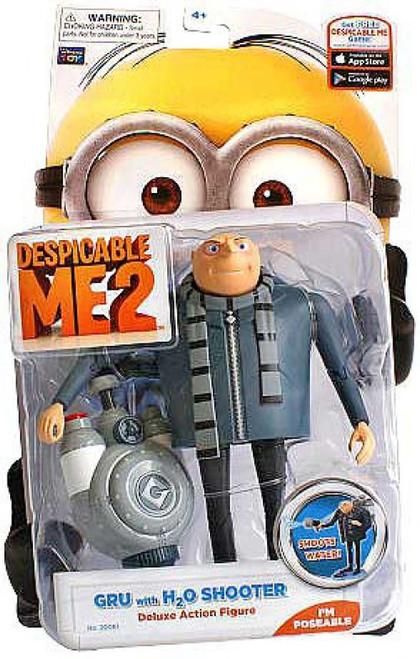 Despicable Me 2 Gru Action Figure [H2O Shooter]