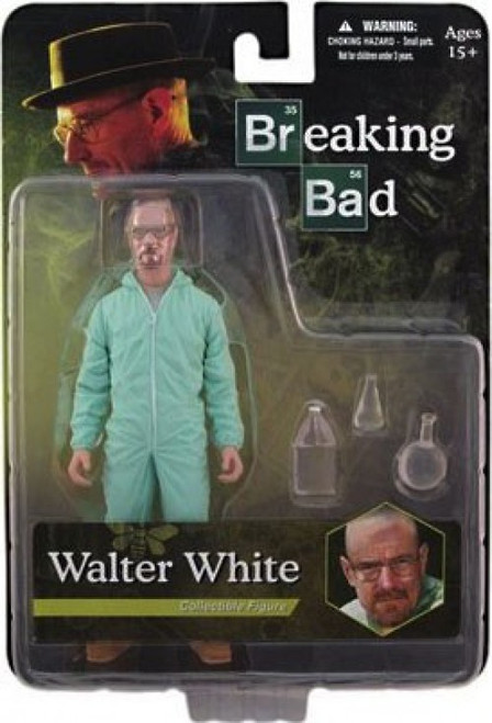 Breaking Bad Walter White Exclusive Action Figure [Blue Hazmat Suit]