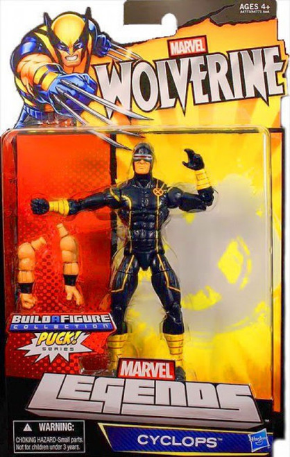 Wolverine Marvel Legends Puck Series Cyclops Exclusive Action Figure