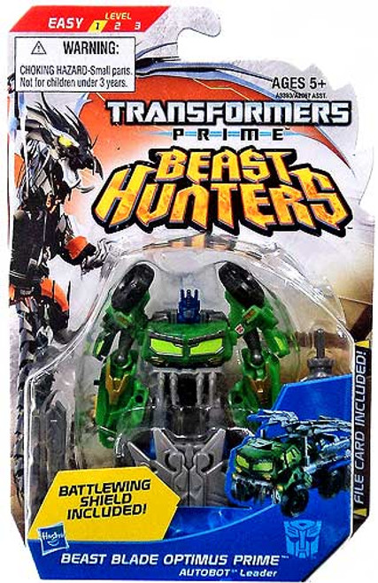 Transformers Beast Hunters Beast Blade Optimus Prime Commander Action Figure