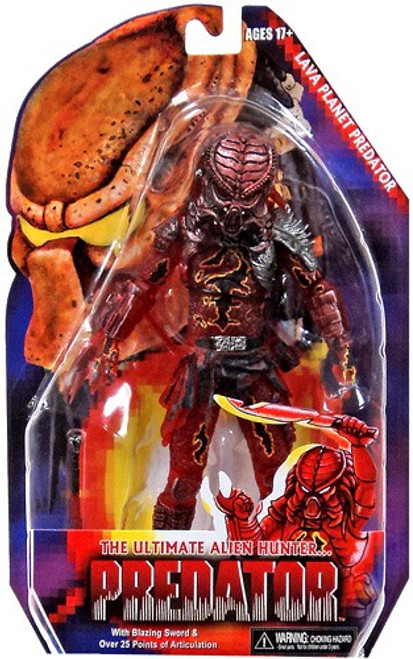 NECA Kenner Series 10 Lava Planet Predator Action Figure