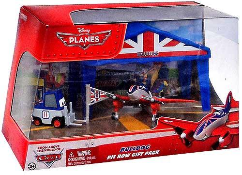 Disney Planes Pit Row Gift Pack Bulldog Diecast Plane Set