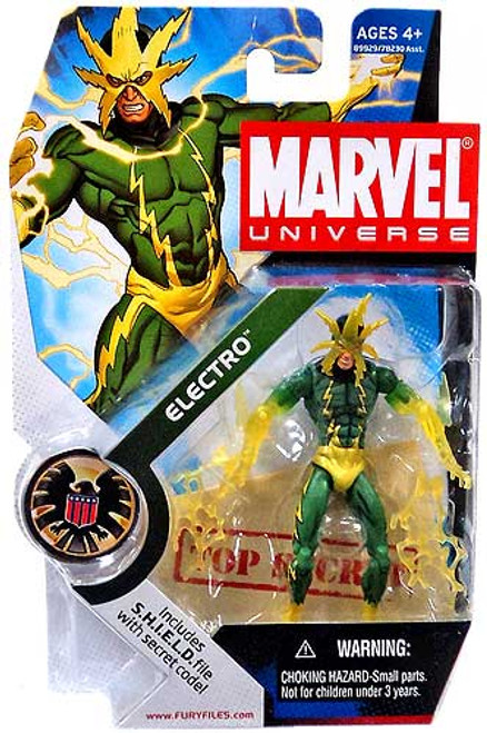 Marvel Universe Series 4 Electro Action Figure #25 [Translucent Hands]