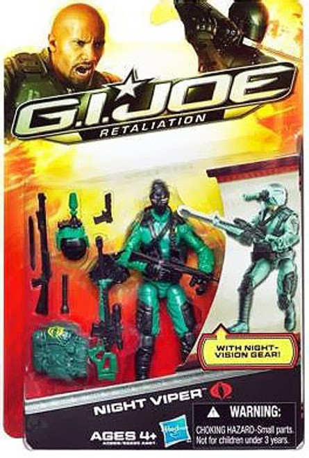 GI Joe Retaliation Night Viper Action Figure