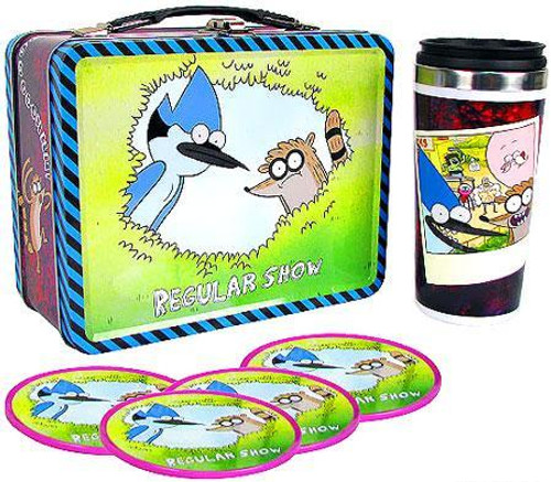 Cartoon Network Regular Show Tin Tote Gift Set