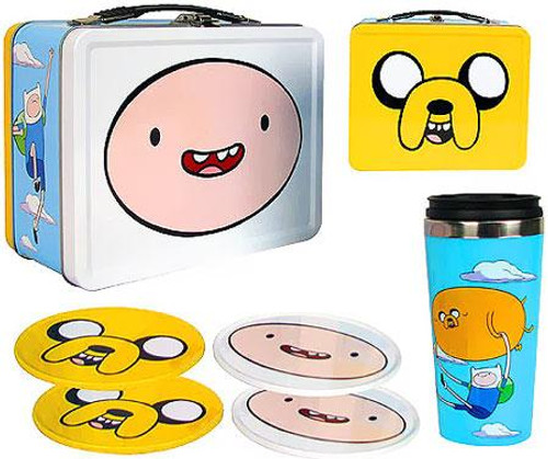 Adventure Time Tin Tote Gift Set