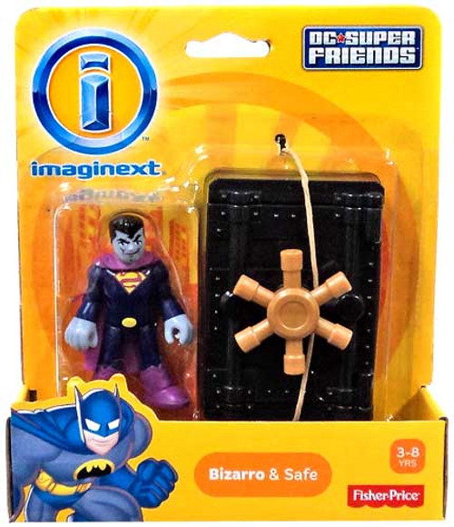 Fisher Price DC Super Friends Imaginext Bizarro & Safe 3-Inch Mini Figure