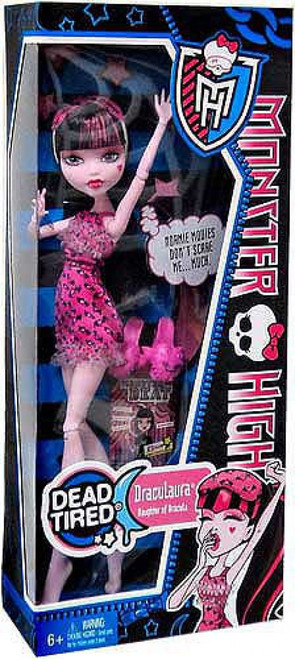 Monster High Dead Tired Draculaura 10.5-Inch Doll [Alternate Outfit]