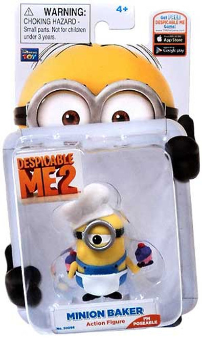 Despicable Me 2 Minion Baker Action Figure