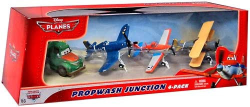 Disney Planes Propwash Junction Exclusive Diecast Vehicle 4-Pack