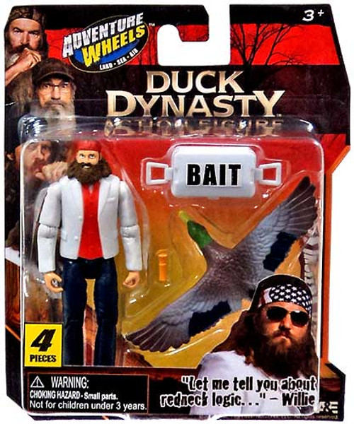 Duck Dynasty Adventure Wheels Willie Action Figure