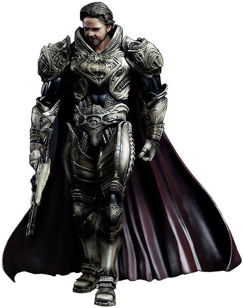 Superman Man of Steel Play Arts Kai Jor-El Action Figure