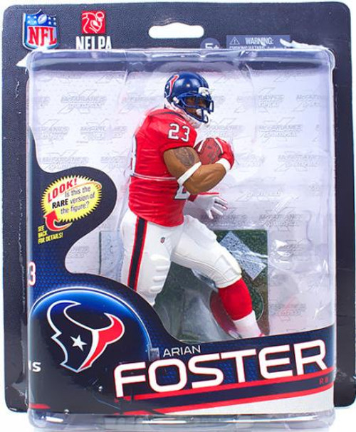McFarlane Toys NFL Houston Texans Sports Picks Series 32 Arian Foster Action Figure [Red Jersey]