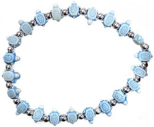 Trrtlz Blue Turtles Bracelet