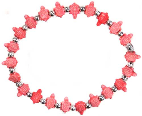 Trrtlz Red Turtles Bracelet