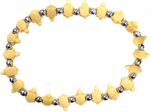 Trrtlz Yellow Turtles Bracelet