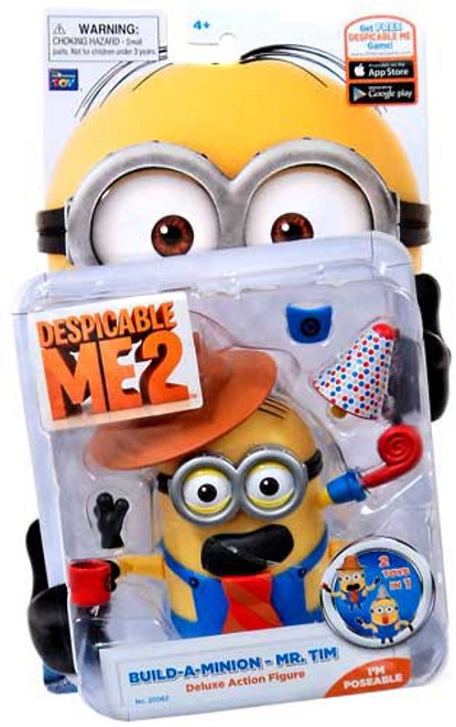 Despicable Me 2 Build-A-Minion Mr. Tim Action Figure