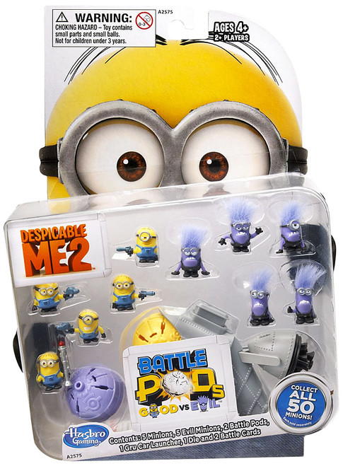 Despicable Me 2 Battle Pods Good vs. Evil Figure Pack