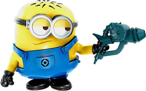Despicable Me 2 Battle Pods Blaster Jerry 1-Inch Micro Figure #36 [Loose]
