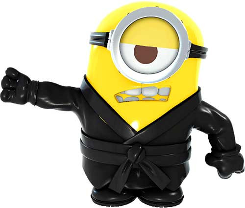Despicable Me 2 Battle Pods Kung Fu Carl 1-Inch Micro Figure #44 [Loose]
