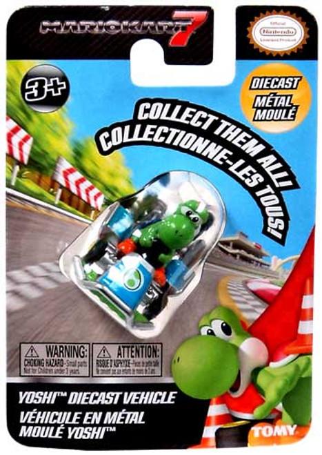 Super Mario Mario Kart 7 Yoshi Diecast Vehicle