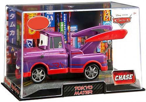 Disney / Pixar Cars 1:43 Collectors Case Tokyo Mater Exclusive Diecast Car [Purple]