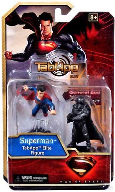 Man of Steel TabApp Elite Superman & General Zod Figure 2-Pack