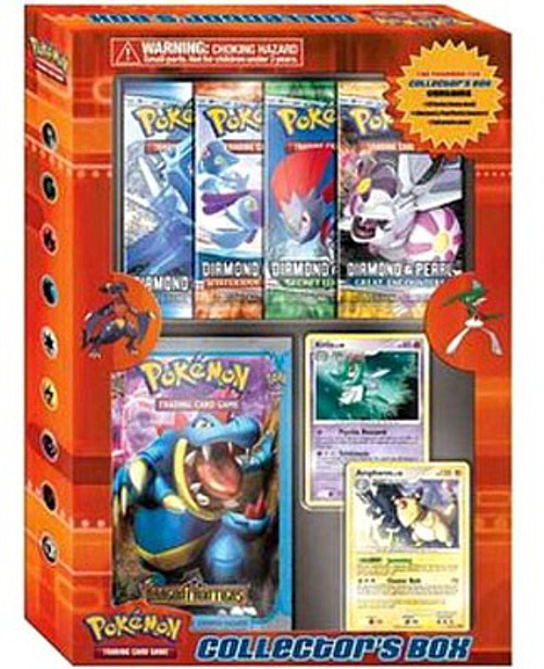 Pokemon Trading Card Game Diamond & Pearl Collector's Box [4 Booster Packs, 2 Promo Cards & Theme Deck!]