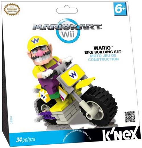 K'NEX Super Mario Mario Kart Wii Wario Bike Set #38307