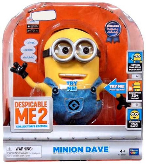 Despicable Me 2 Minion Dave Exclusive Action Figure [Interactive Talking]