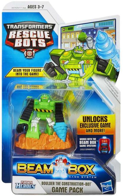 Transformers Playskool Heroes Rescue Bots Boulder Game Pack
