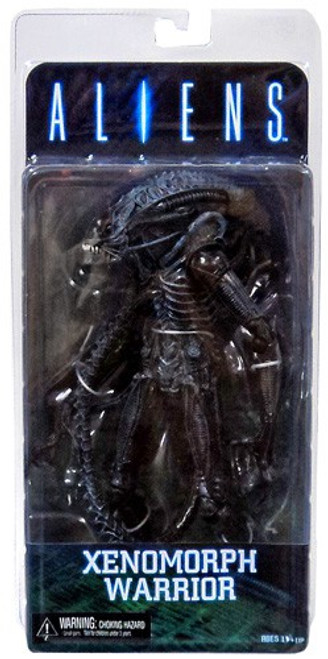 NECA Aliens Series 2 Xenomorph Warrior Action Figure [Blue]