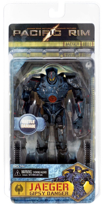 NECA Pacific Rim Series 2 Gipsy Danger Action Figure [Battle Damaged]