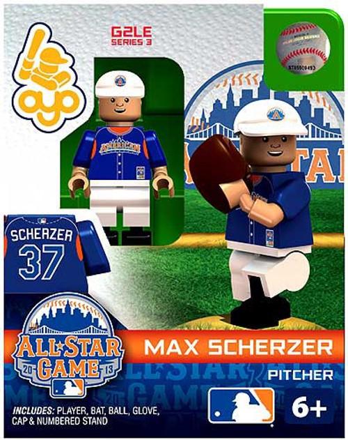 American League MLB Generation 2 Series 3 Max Scherzer Minifigure [All-Star Game]