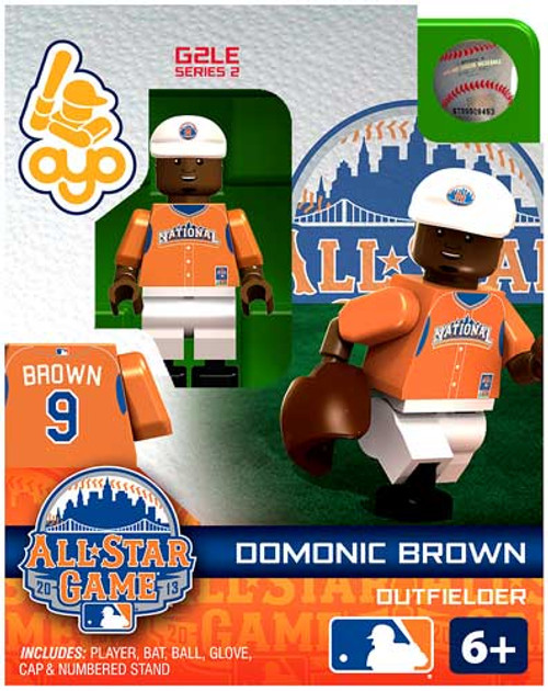 National League MLB Generation 2 Series 2 Domonic Brown Minifigure [All-Star Game]
