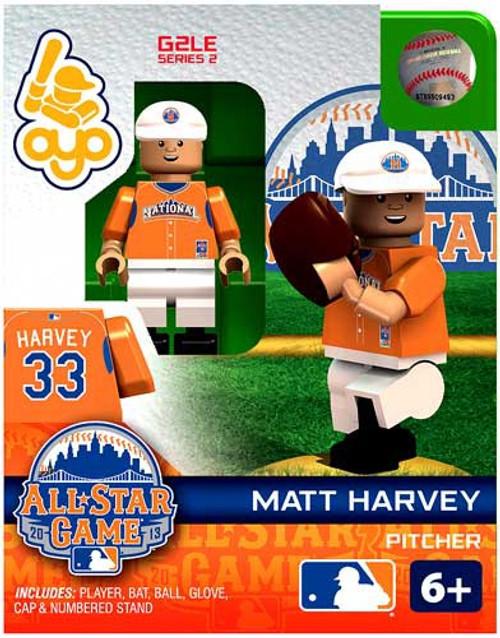 National League MLB Generation 2 Series 2 Matt Harvey Minifigure [All-Star Game]