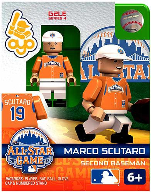 National League MLB Generation 2 Series 4 Marco Scutaro Minifigure [All-Star Game]