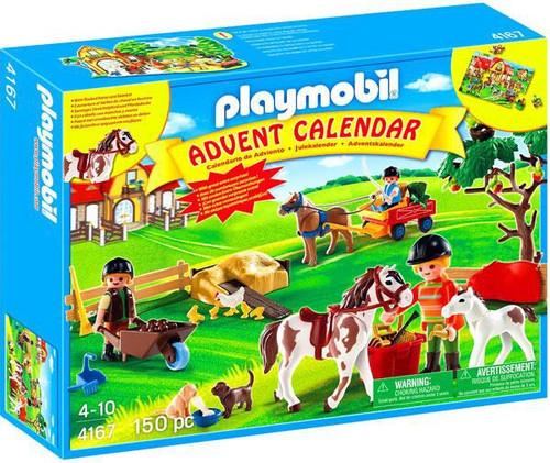 Playmobil Advent Calendar Pony Farm Set #4167