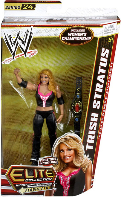 WWE Wrestling Elite Collection Series 24 Trish Stratus Action Figure [Women's Championship]