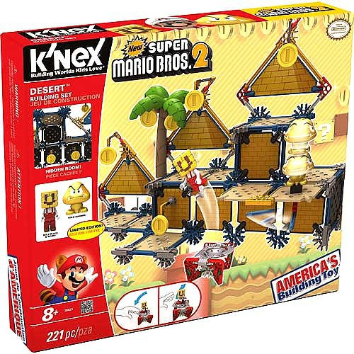 K'NEX New Super Mario Bros 2 Desert Building Set Set #38623