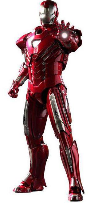 Iron Man 3 Movie Masterpiece Iron Man Mark 33 Silver Centurion Collectible Figure
