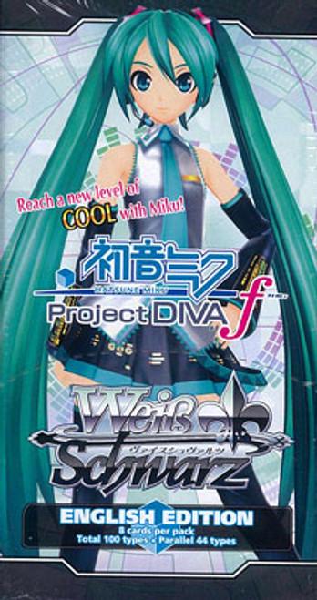 Weiss Schwarz Project Diva Vocaloid Booster Pack [8 Cards]