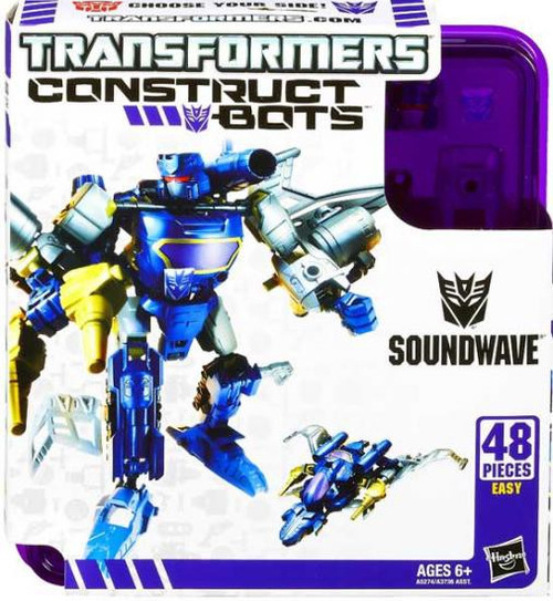 Transformers Construct-A-Bots Soundwave Action Figure
